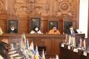 Munícipes de Cochabamba y funcionarios del BID