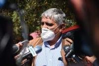 Evo Morales en Lauca Ñ, el domingo pasado.