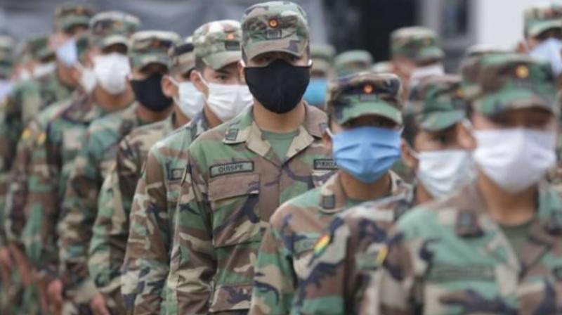 Las Fuerzas Armadas de brasil se preparan para resguardar las zonas fronterizas Foto: Infobae